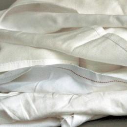Polierleinen Weiß, 10 kg