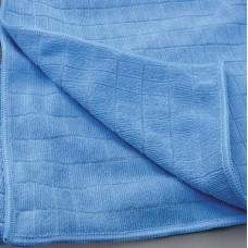 Microfaser Bodentuch, 50 x 60 cm, 340g/m2, blau, 10 Stück