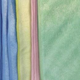 Kombipack Frottee Stretch, 40 x 40 cm, 20 Stück: je 5 x rosa, blau, grün, gelb